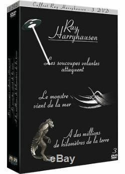 Ray Harryhausen -6 DVD -Les Soucoupes Volantes Attaquent/Le Monstre. /A des m