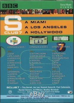 S CLUB 7. INTEGRALE SAISON 1,2 et 3. A MIAMI / A LOS ANGELS / A HOLLYWOOD