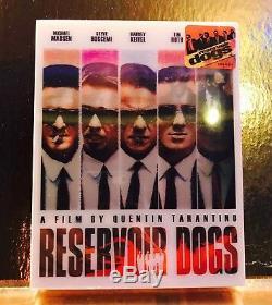 STEELBOOK Blu-ray Réservoir Dogs Lenticulaire Nova
