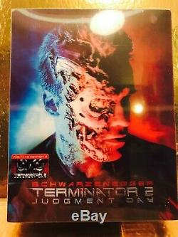 STEELBOOK Blu-ray Terminator 2 Full Slip Filmarena