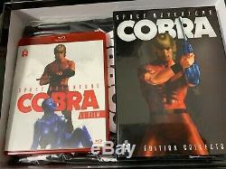 Space Adventure Cobra La Série + Le Film Ultimate Box Blu-ray Numerotee