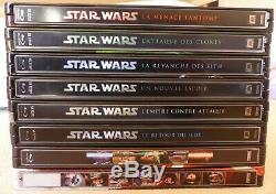 Star Wars intégrale steelbook blu ray version française