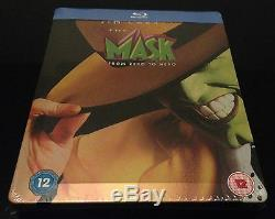 Steelbook Blu Ray The Mask Zavvi Limited To 2500 Ex. Neuf New And Sealed