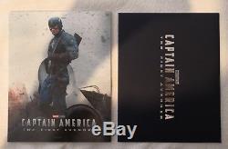 Steelbook KimchiDvd Captain America The First Avenger Fullslip A2
