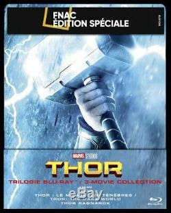 Steelbook Trilogie THOR edition Fnac Marvel