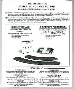 THE ULTIMATE JAMES BOND COLLECTION / Coffret 25 Blu-Ray Neuf sous blister VF