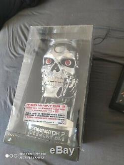 Terminator 2 Coffret collector Édition Ultimate Tête de T-800 Blu-ray occasion