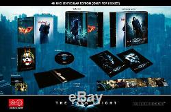 The Dark Knight HDzeta Lenticular Steelbook Bluray 4k DC Comics batman