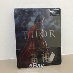 Thor Steelbook Edition Blufans 1/4 Slip Sealed/NO VF Rare