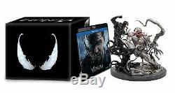 Venom Coffret Edition limitée Collector Statue / Figurine 4K ULTRA HD NEUF